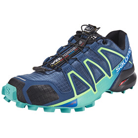 Salomon Speedcross 4 Trailrunning Shoes Women slateblue/spa blue/fresh green